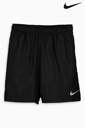 "Next Mens Nike Run Black 2in1 7"" Challenger Short"