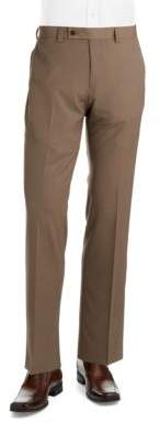 Calvin Klein Flat-Front Trousers
