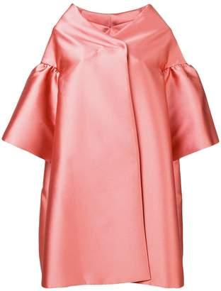 Alberta Ferretti oversized short dress