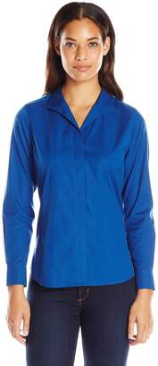 Foxcroft Women's Long Sleeve Eva Non Iron Shirt