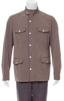 Canali Zip-Up Cargo Jacket