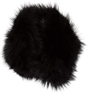 J. Mendel Fur Jewel-Embellished Stole