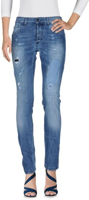Entre Amis Denim pants - Item 42620408EF
