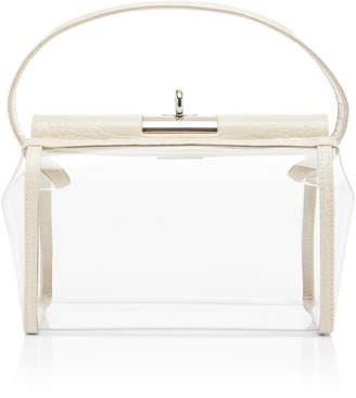 gu de Water Leather-Trimmed PVC Bag