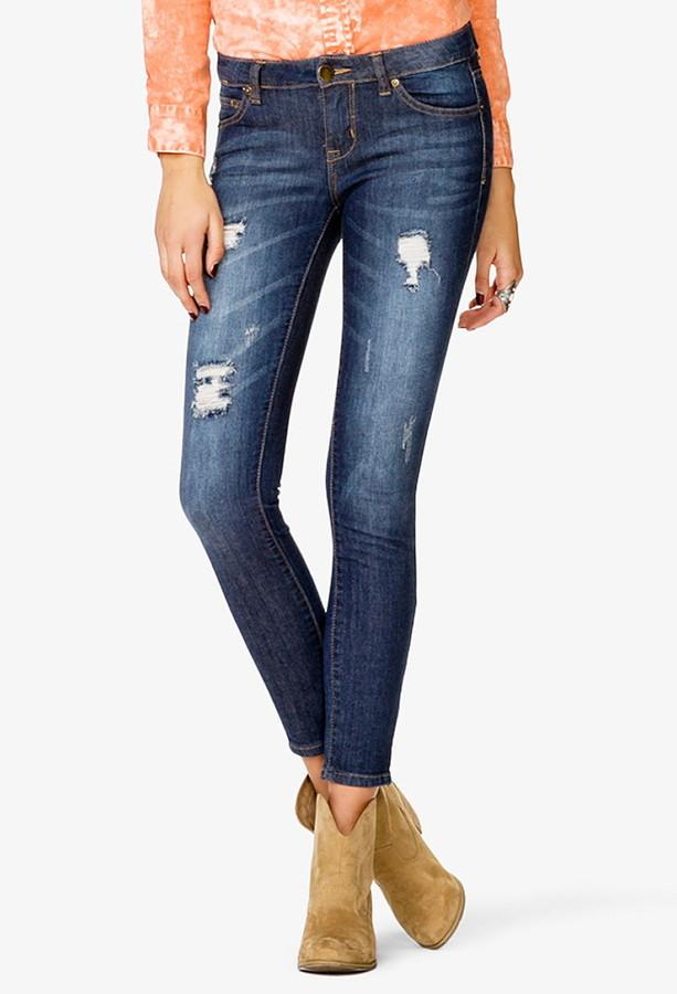 Forever 21 Life in ProgressTM Casual Friday Skinny Jeans