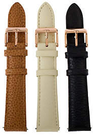 BEIGE Bronze Black, & Camel Watch Straps by Bronzo Italia