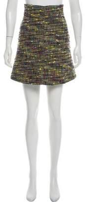 Just Cavalli Bouclé Mini Skirt