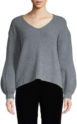 Zero Degrees Celsius High-Low Sparkle Sweater