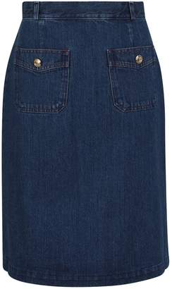Gucci Denim mini skirt