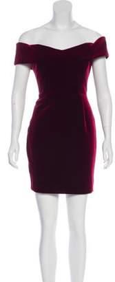 Nicholas Off-The-Shoulder Mini Dress w/ Tags Off-The-Shoulder Mini Dress w/ Tags