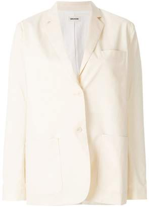 Zadig & Voltaire Zadig&Voltaire tailored fitted blazer