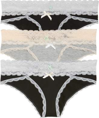 Honeydew Intimates Ahna 3-Pack Hipster Panties