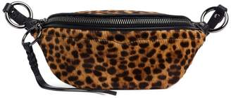 Rebecca Minkoff Bree Leopard-Print Mini Belt Bag