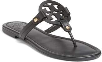 70c287b10c78 Tory Burch Black Flip Flop Women s Sandals - ShopStyle