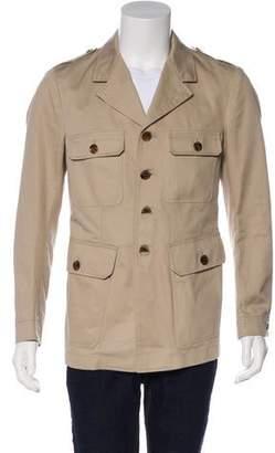 Tom Ford Twill Military Field Jacket w/ Tags