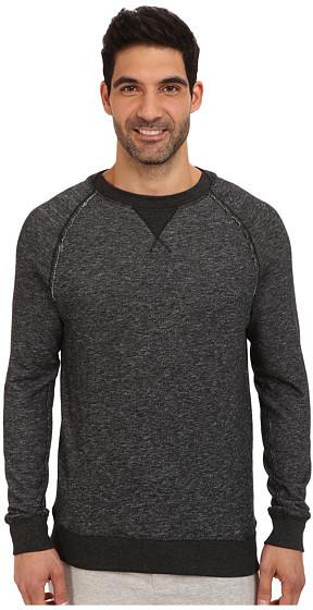 2(X)IST Terry Crew Neck Sweatshirt