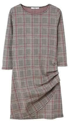 MANGO Draped detail dress