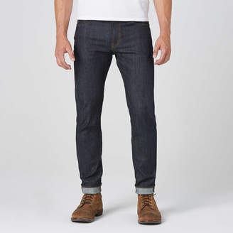 DSTLD Skinny-Slim 11.75oz Raw Denim Jeans in 24-dip Indigo - Timber