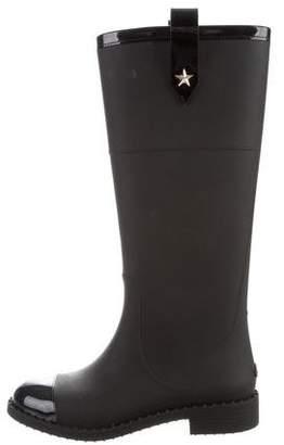 Jimmy Choo Knee-High Rain Boots