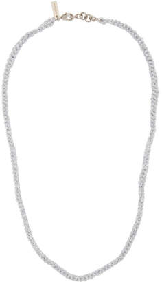 Acne Studios Silver Andres Necklace