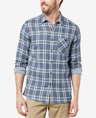 Dockers Double-Weave Plaid Shirt
