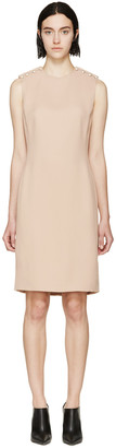 Lanvin Nude Crepe & Pearl Dress $3,355 thestylecure.com