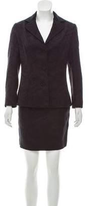 Dolce & Gabbana Wool Jacquard Suit Set
