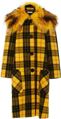 Michael Kors Coat With Faux Fur Collar