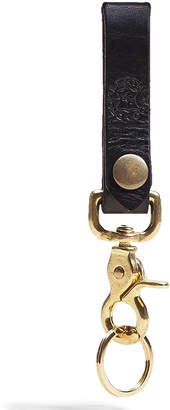 Orox Leather Co. Classic Leather and Brass Keychain