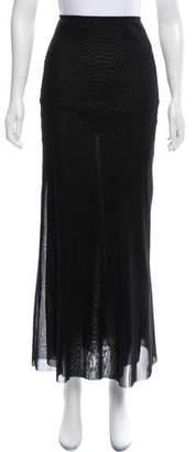 Jean Paul Gaultier Layered Mesh Maxi Skirt w/ Tags