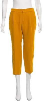 Chloé Mid-Rise Straight-Leg Pants