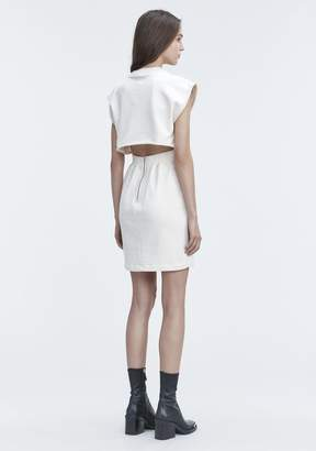 Alexander Wang CINCH WAIST DRESS Short Dress