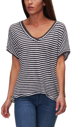 Free People Take Me Short-Sleeve Striped T-Shirt - Women's