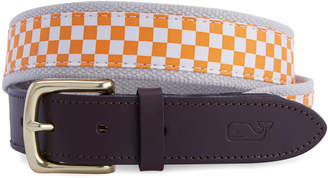 Vineyard Vines University of Tennessee Canvas Club Belt