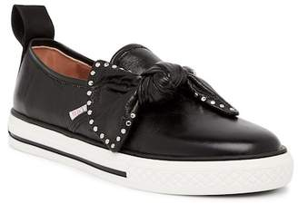 RED Valentino Studded Knot Slip-On Sneaker