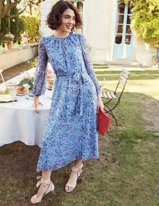 Boden Kyra Silk Midi Dress