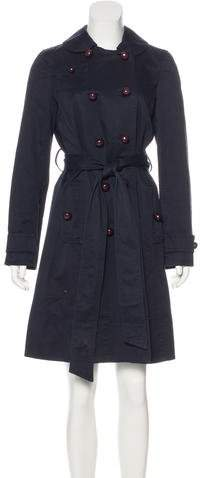 Marc by Marc Jacobs Double Breasted Knee-Length Coat