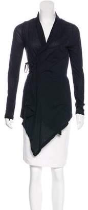 Ann Demeulemeester Asymmetrical Knit Cardigan
