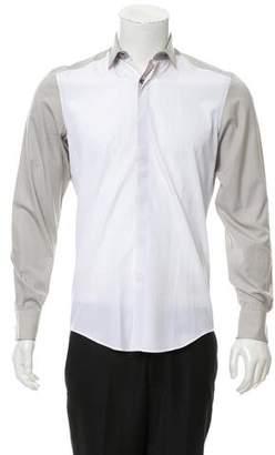 Lanvin Colorblock Button-Up Shirt