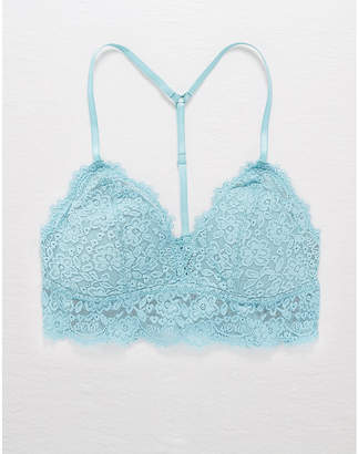6e57fc363a1aaa aerie Romantic Lace Padded Bralette