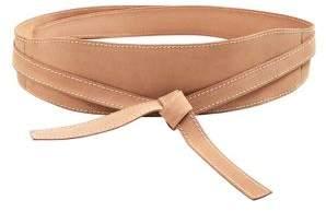 MANGO Classic Suede Belt