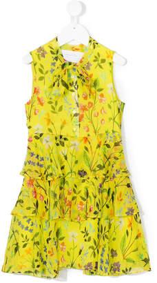 Oscar de la Renta Kids Spring field pleated dress