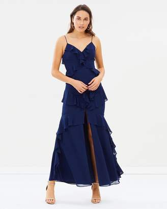 Lumier Kalea Frill Maxi Dress