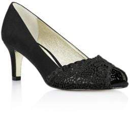 Adrianna Papell Lace Elegant Dress Pumps