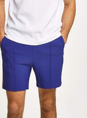 Topman Blue Side Stripe Smart Shorts