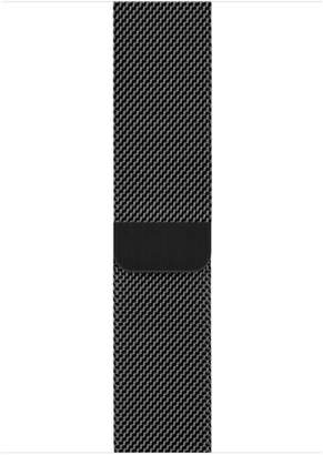 Apple 44mm Space Black Milanese Loop