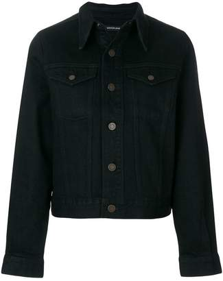 Calvin Klein patch-appliqué denim jacket