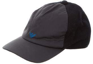 Armani Junior Boys' Logo Printed Hat $45 thestylecure.com
