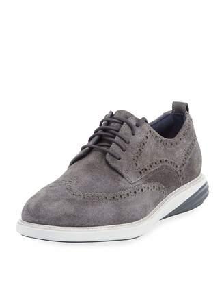 Cole Haan Men's Grand Evolution Suede Sneakers, Gray