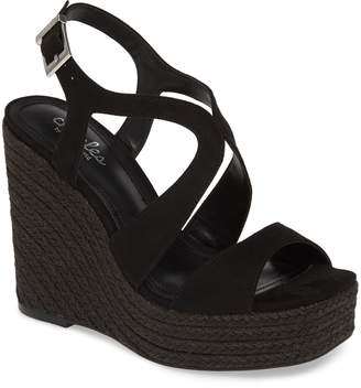 Charles by Charles David Damon Platform Wedge Sandal